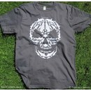 Organic Cotton T-shirt: Bycatch is Ecocide (Slate Grey)