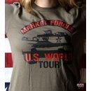 American made T-shirt: US World Tour