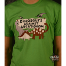 Dinosaurs Against Creationism T-shirt