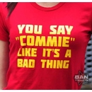 Organic Cotton T-shirt: Commie