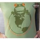 Organic Cotton T-shirt: Frog