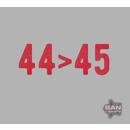 44>45: Organic Cotton/RPET T-shirt