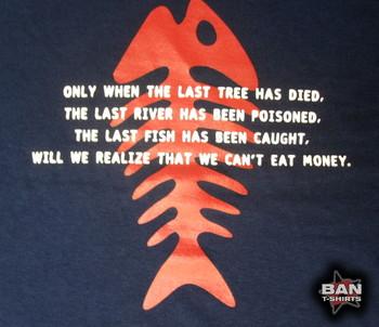 Hemp T-shirt: The Last Fish
