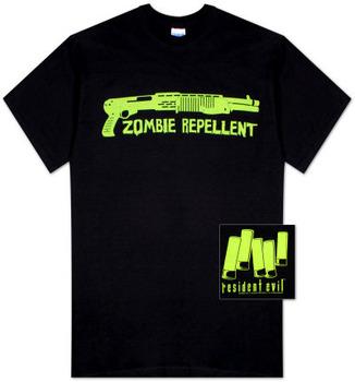 Resident Evil - Zombie Repellent Tee