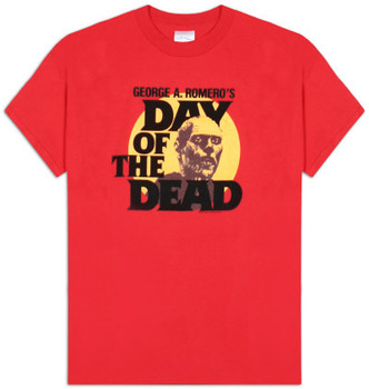 Day of the Dead - Zombie Head T-shirt