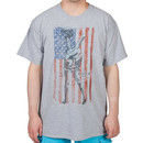 American Flag MASH Shirt