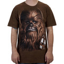 Big Face Chewbacca Shirt