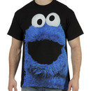 Big Face Cookie Monster Shirt