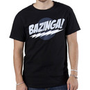 Black Big Bang Theory Bazinga T-Shirt