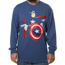 Captain America Long Sleeve Shirt