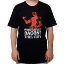 Deadpool Loves Bacon Shirt
