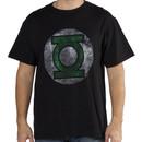 Distressed Green Lantern Logo Shirt