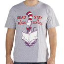 Dr. Seuss Cat In The Hat Read A Book Shirt