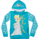 Girls Elsa Frozen Hoodie