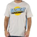 Gray Bazinga Caped T-Shirt