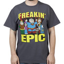 Justice League Family Guy Shirt
