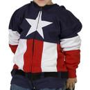 Juvy Captain America Costume Hoodie