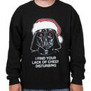 Lack of Cheer Darth Vader Ugly Sweatshirt