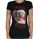 Ladies Dragon Queen Game Thrones Shirt