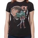 Ladies Levi Attack On Titan Shirt