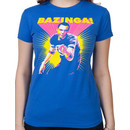 Ladies Neon Bazinga T-Shirt