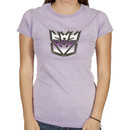 Ladies Transformers Decepticon Logo Shirt