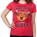 Little Miss Chicago Bulls Shirt By Junk Food