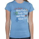 One Fish Two Fish Dr. Seuss T-Shirt by Junk Food