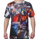 Optimus Prime vs Megatron Sublimation Shirt