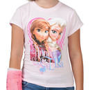 Pink Anna and Elsa Shirt