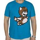 Pixel Mario Tanooki Suit Shirt