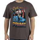 Retro Optimus Prime Shirt