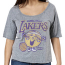 Scoop Neck Little Miss Lakers Shirt By Junk Food