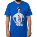 Screech Wearing Slater T-Shirt