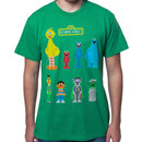 Sesame Street Cast Shirt