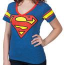 Superman V-Neck Shirt