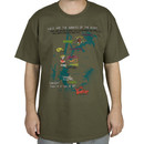 The Warriors Turf Map T-Shirt