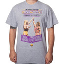 Ultimate Warrior Vs. Hulk Hogan WrestleMania 6 T-Shirt