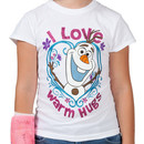 Warm Hugs Olaf Shirt