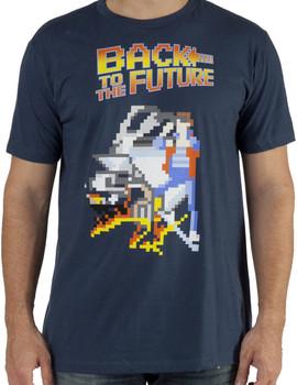 8-Bit Back To The Future Shirt