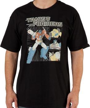 80s G1 Autobots Shirt