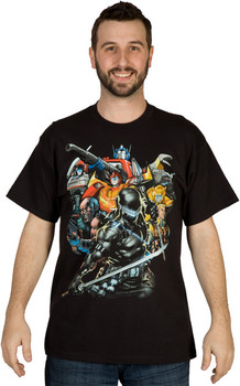 Autobots and GI Joe Shirt