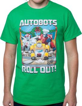 Autobots Roll Out Christmas T-Shirt