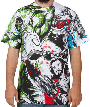 Avengers Group Shirt