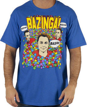 Big Bang Theory Sheldon Ball Pit T-Shirt