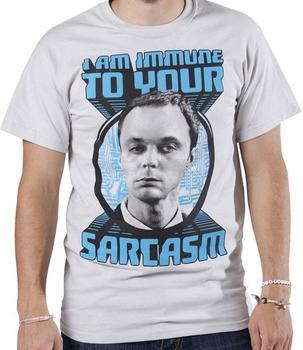 Big Bang Theory Sheldon T-Shirt Sarcasm