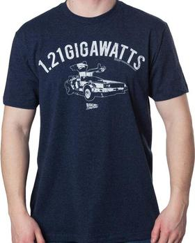 Blue 1.21 Gigawatts T-Shirt