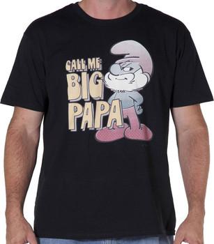 Call Me Big Papa Smurf Shirt