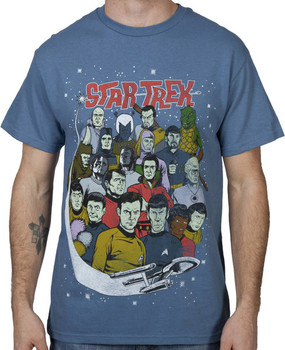 Characters Star Trek Shirt