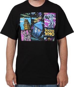 Comic Doctor Who Shirt